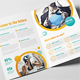 Creative Circles Bifold Brochure - GraphicRiver Item for Sale