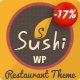 Sushi Restaurant | Food & Restaurant Theme Nulled