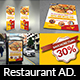 Restaurant Advertising Bundle Vol.15 - GraphicRiver Item for Sale