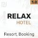 Hotel Relax for Reservation, Resort and Spa PSD Template Nulled