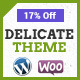 Delicate | Clean Multi-Purpose WordPress Theme - ThemeForest Item for Sale