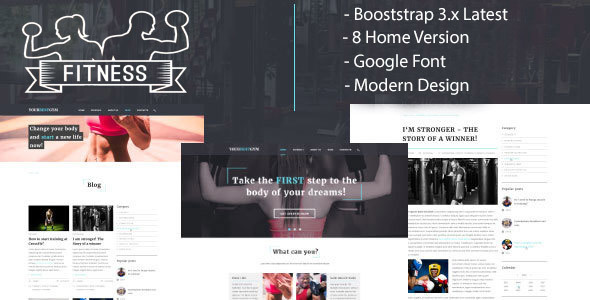 Your Best GUM : Gym & Fitness HTML5 Responsive Template