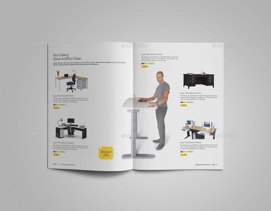 Indesign Product Catalog by Le_Parte | GraphicRiver