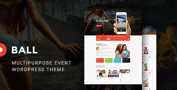 Ball — eSports / Gaming / Entertainment / Event / Portfolio WP Theme - Entertainment WordPress