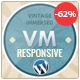 Vintage, Retro WordPress