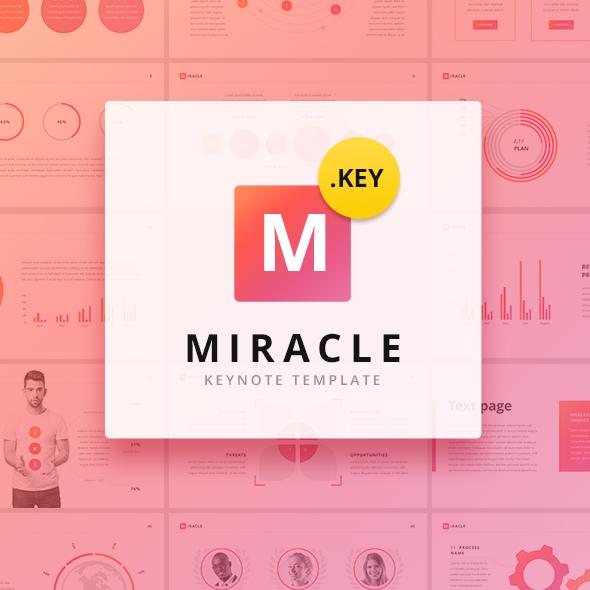 Miracle Modern Keynote Template - Keynote Templates Presentation Templates