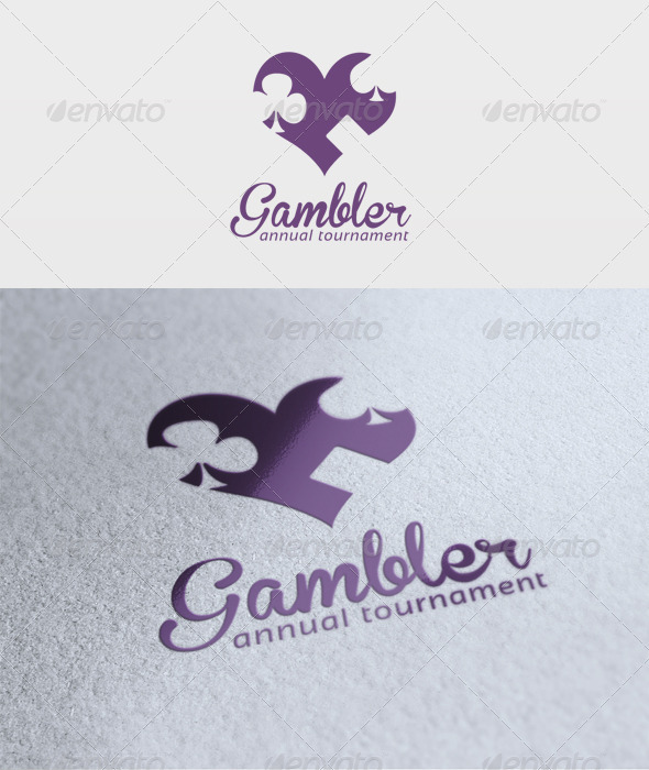 Gambler Logo - Symbols Logo Templates