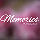 Memories of Moments - VideoHive Item for Sale