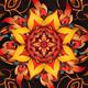 Fire Mandala Kaleido - VideoHive Item for Sale