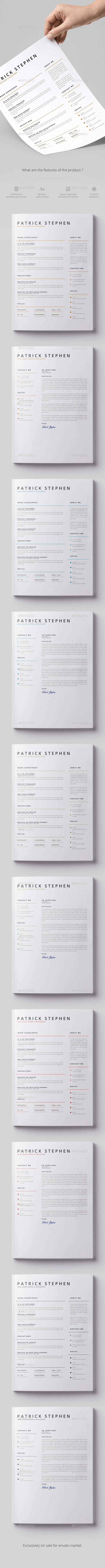 Resume/Coverletter - Resumes Stationery