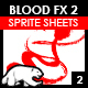 Blood Sprite FX for Games #2 - GraphicRiver Item for Sale
