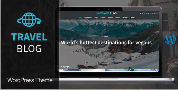 Travel Blog | WordPress Travel Blog Theme