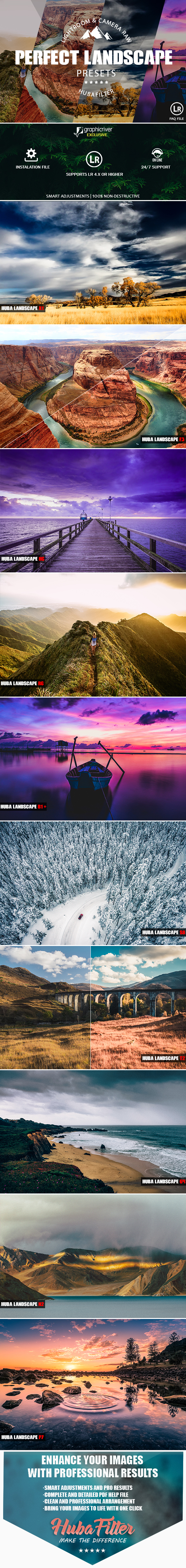 30 Perfect Landscape Lightroom & Camera Raw Presets - Landscape Lightroom Presets