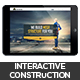 Interactive Construction Template - GraphicRiver Item for Sale