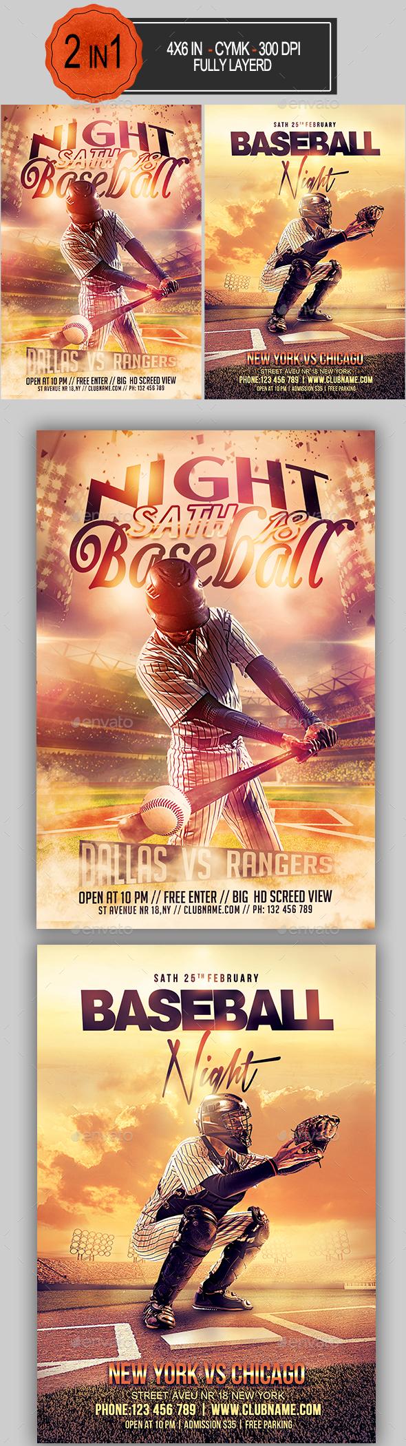 Baseball Flyer Bundle - Sports Events