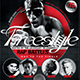 Freestyle Rap Battle Flyer Template V7