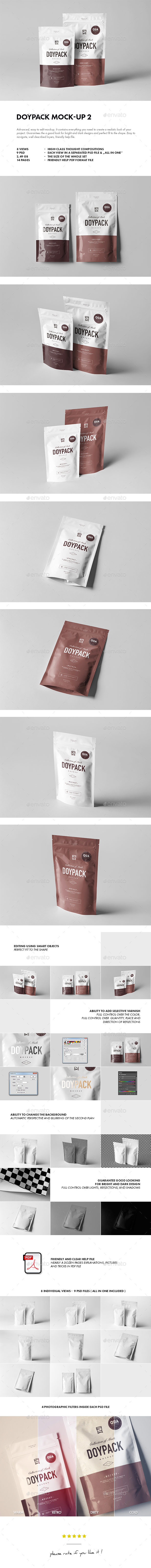 Doypack Mock-up 2 - Miscellaneous Packaging