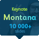 Montana Keynote Template - GraphicRiver Item for Sale