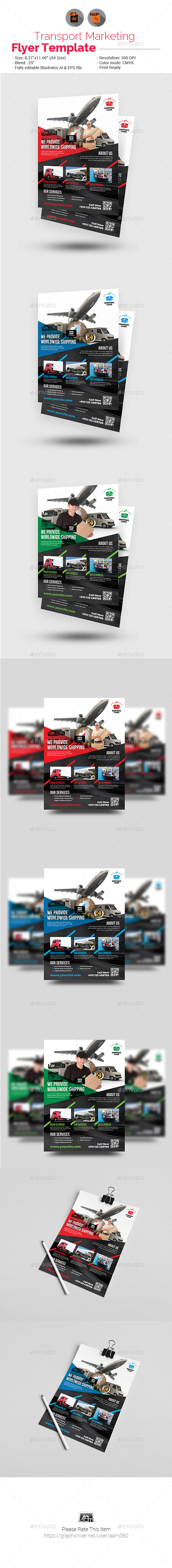 Transport Flyer - Corporate Flyers