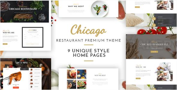 Chicago – Multi-Purpose Restaurant Theme (Restaurants & Cafes) images
