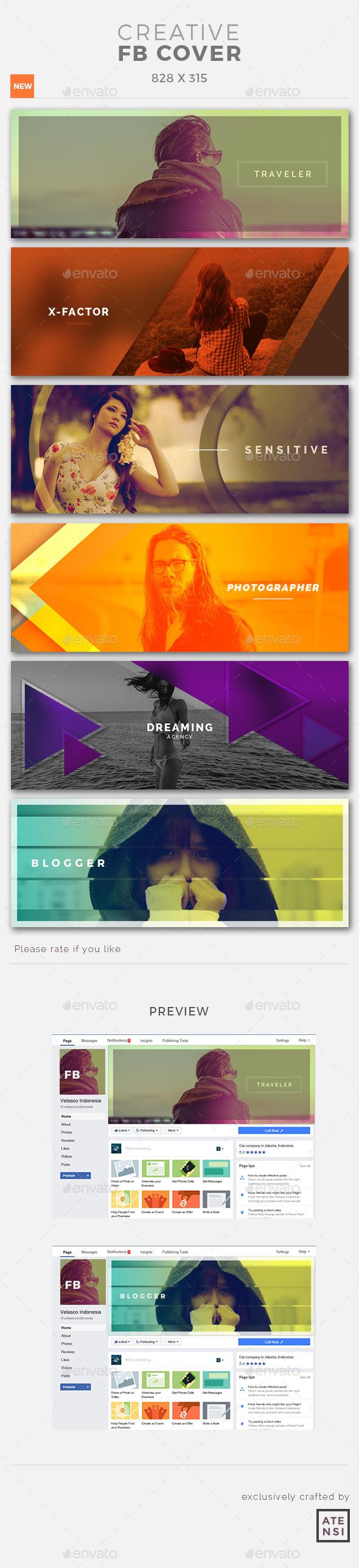 Creative Facebook Cover - Facebook Timeline Covers Social Media
