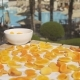 Fresh Orange & Apricots on a Pool Terrace - VideoHive Item for Sale