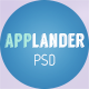 Applander - One Page App Landing PSD Template - ThemeForest Item for Sale