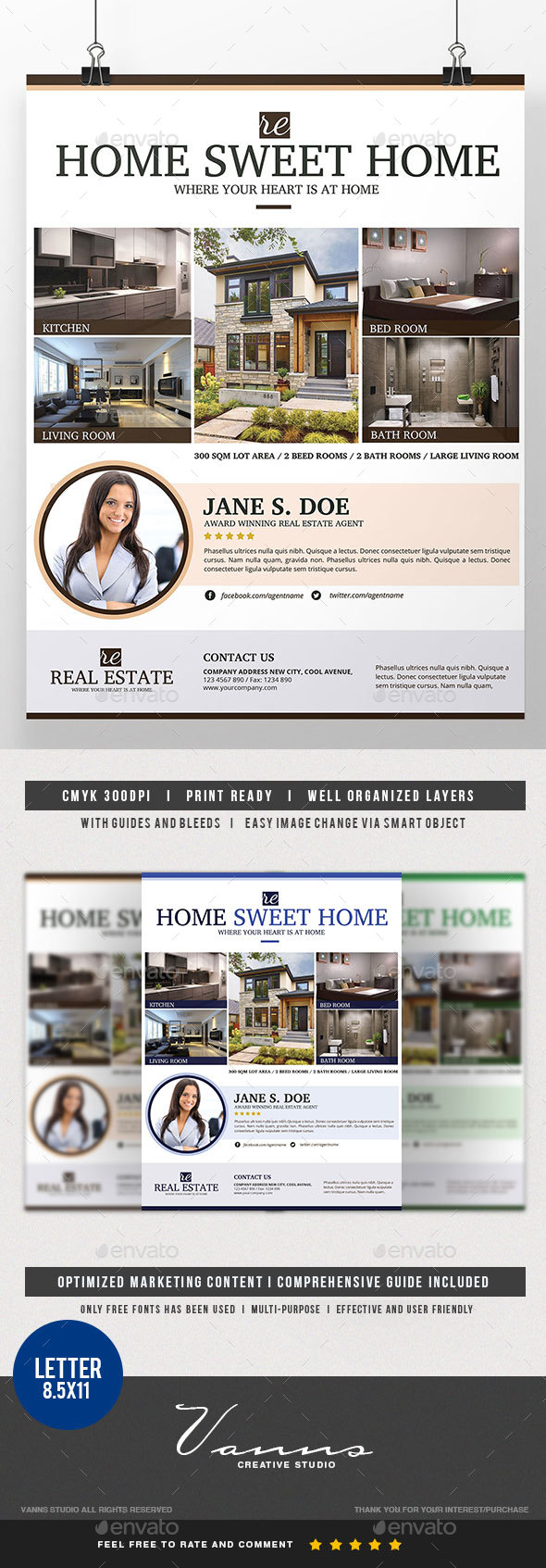 Modern Real Estate Flyer - Corporate Flyers