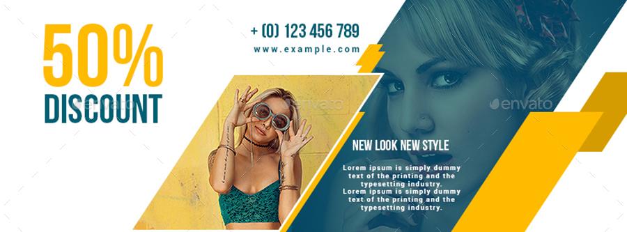 Fashion Sale Facebook Cover Design by Amit89 | GraphicRiver