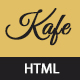 Kafe - Restaurant, Cafe, Food Responsive HTML5 Template - ThemeForest Item for Sale