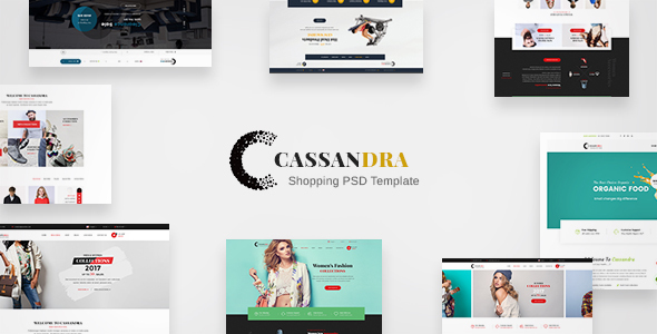 Cassandra Shopping - Multipurpose e-commerce PSD Template - Retail PSD Templates