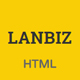 Lanbiz - One Page Corporate Html5 Template - ThemeForest Item for Sale