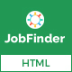 Jobfinder – Job Board HTML Template Nulled