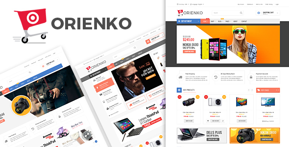 Orienko - Digital eCommerce Template - Electronics Technology
