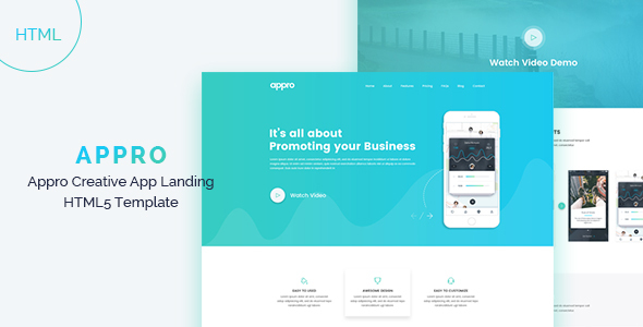 App Landing - Technology Site Templates