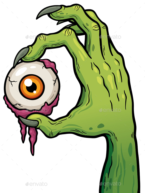 Zombie Hand - Monsters Characters