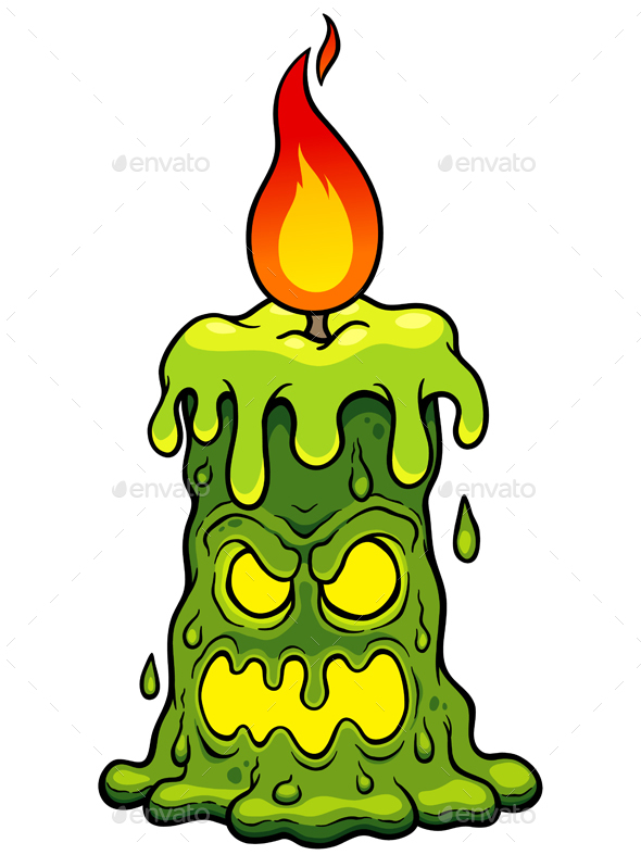 Candle Monster - Monsters Characters