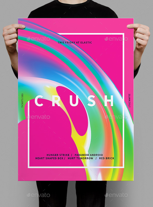 Crush Flyer / Poster - Clubs & Parties Events