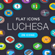 Luchesa Flat Icons - GraphicRiver Item for Sale