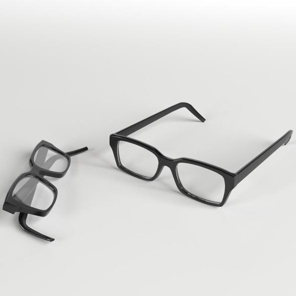 Glasses 2 - 3DOcean Item for Sale