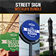 Street Sign Mock-Up Bundle - GraphicRiver Item for Sale