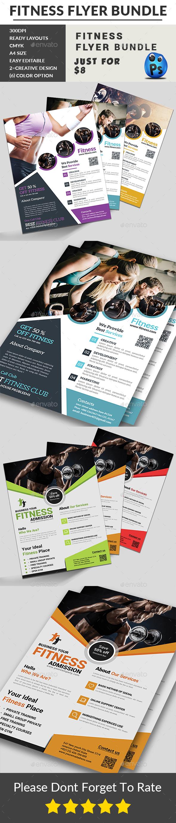 Fitness Flyers Bundle - Sports Events