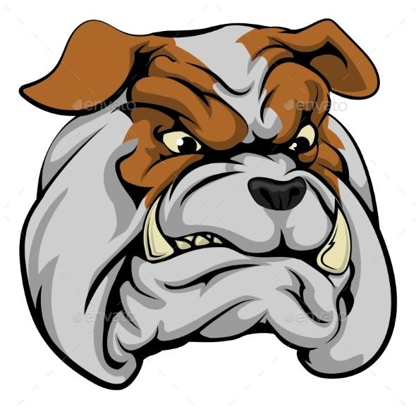 Bulldog Mascot Character - Animals Characters