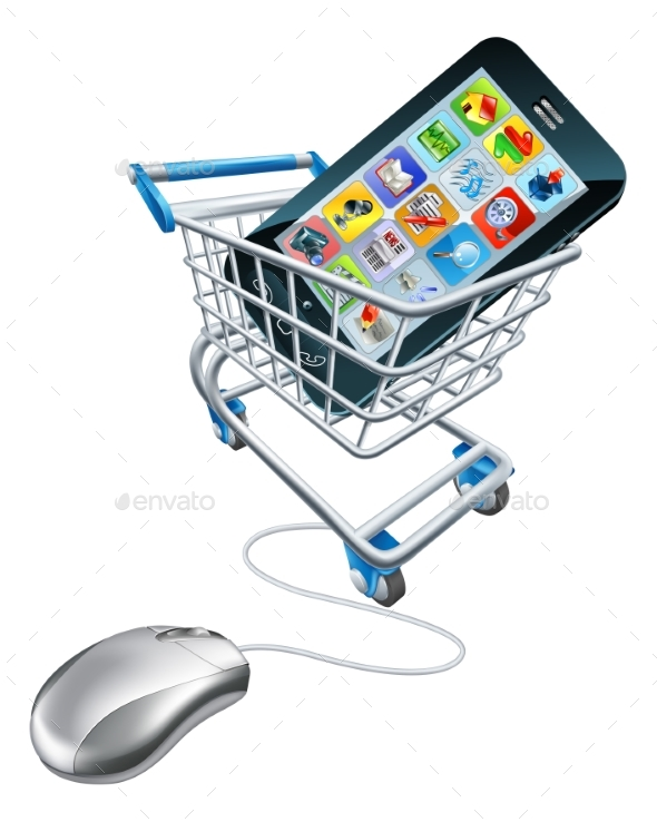 Phone Mouse Trolley Concept - Computers Technology