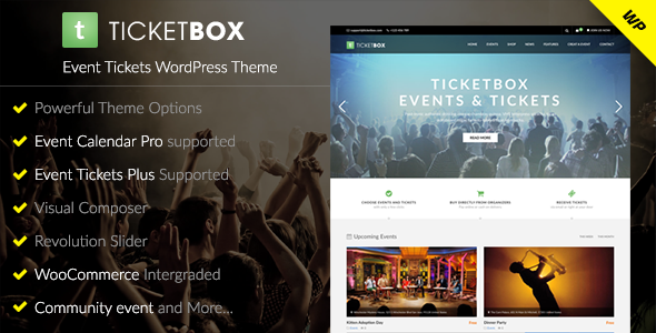 Image of TicketBox – Event Tickets WordPress Theme
