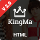 KingMa | Creative Business Onepage HTML Template Nulled