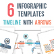 Timelines with Arrows - GraphicRiver Item for Sale