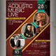 Acoustic Musuic Event Flyer / Poster - GraphicRiver Item for Sale