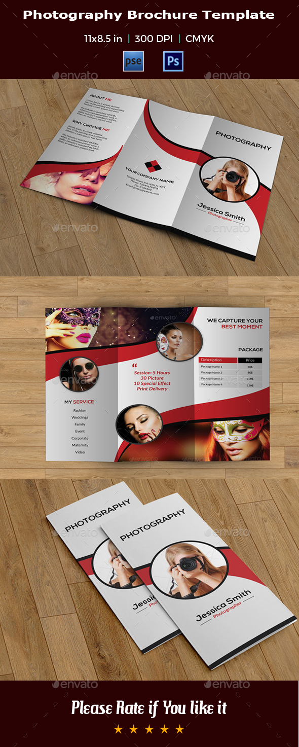 Trifold Photography Brochure -V21 - Corporate Brochures