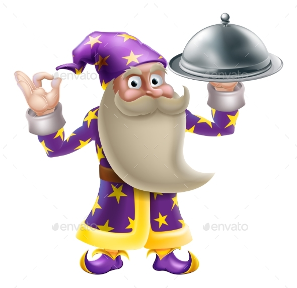 Wizard Chef or Cook - Miscellaneous Characters